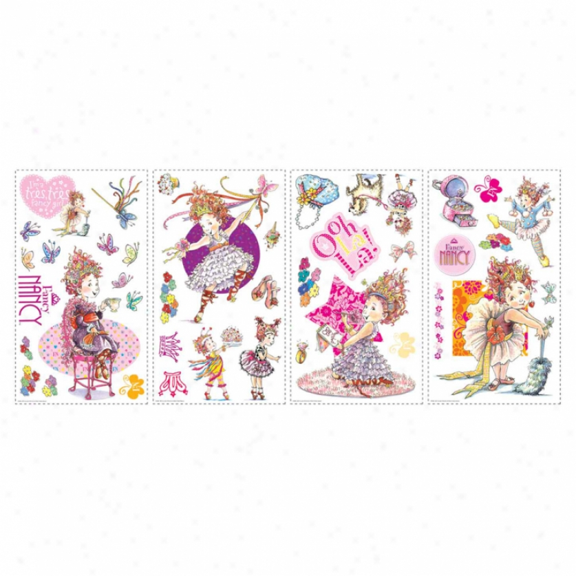Fancy Nancy Wall Decals