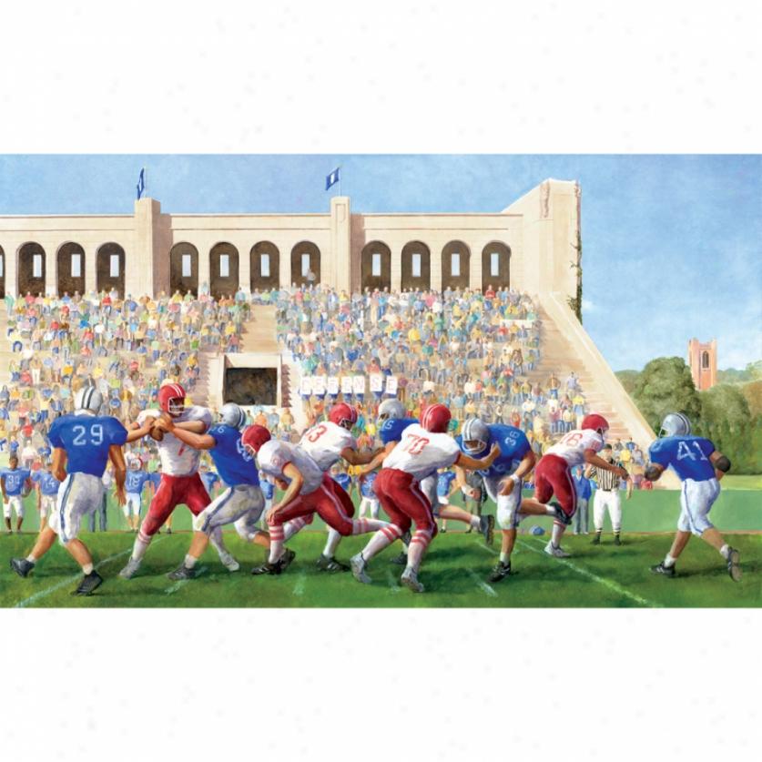 Football Stadium Xl Wallpaper Mural 10.5' X 6'