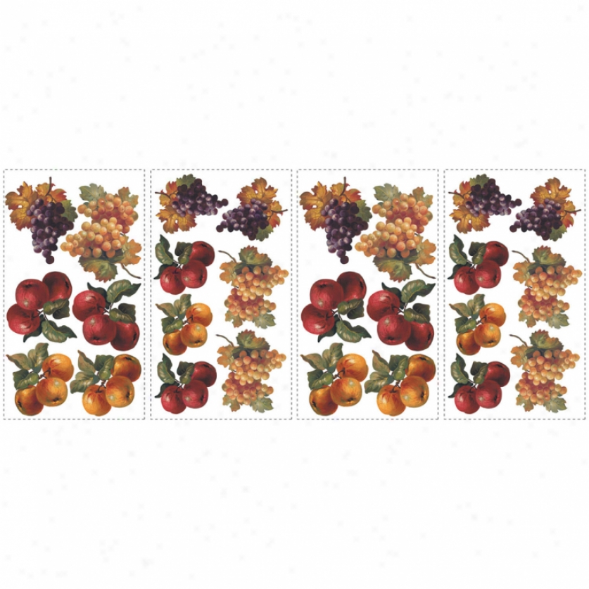 Fruit Harvest Wall Decals