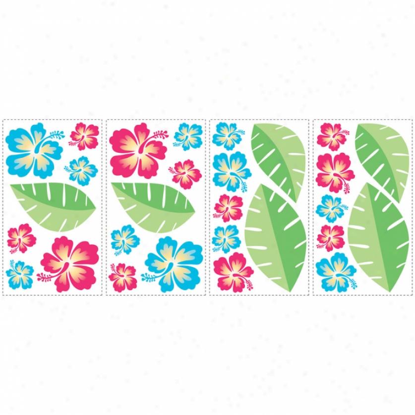 Hawaiian Breeze Wall Decals