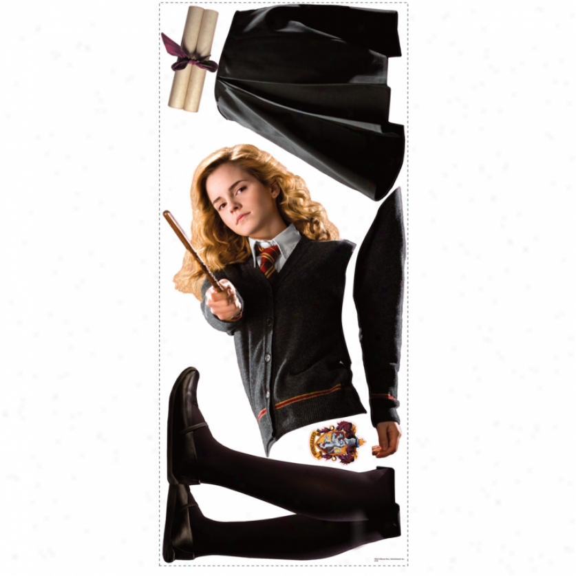 Hermione Giant Wall Decal