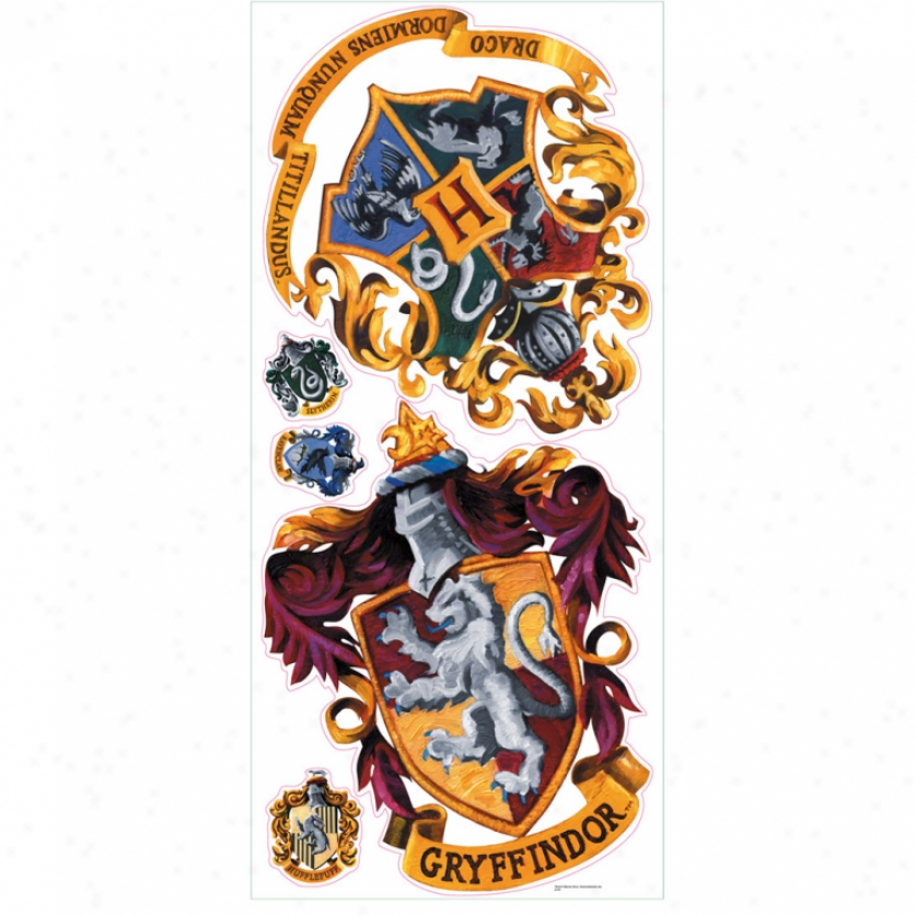 Hogwarts Crest Giant Wall Decals