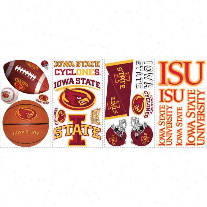 Iowa State University Wall Decals