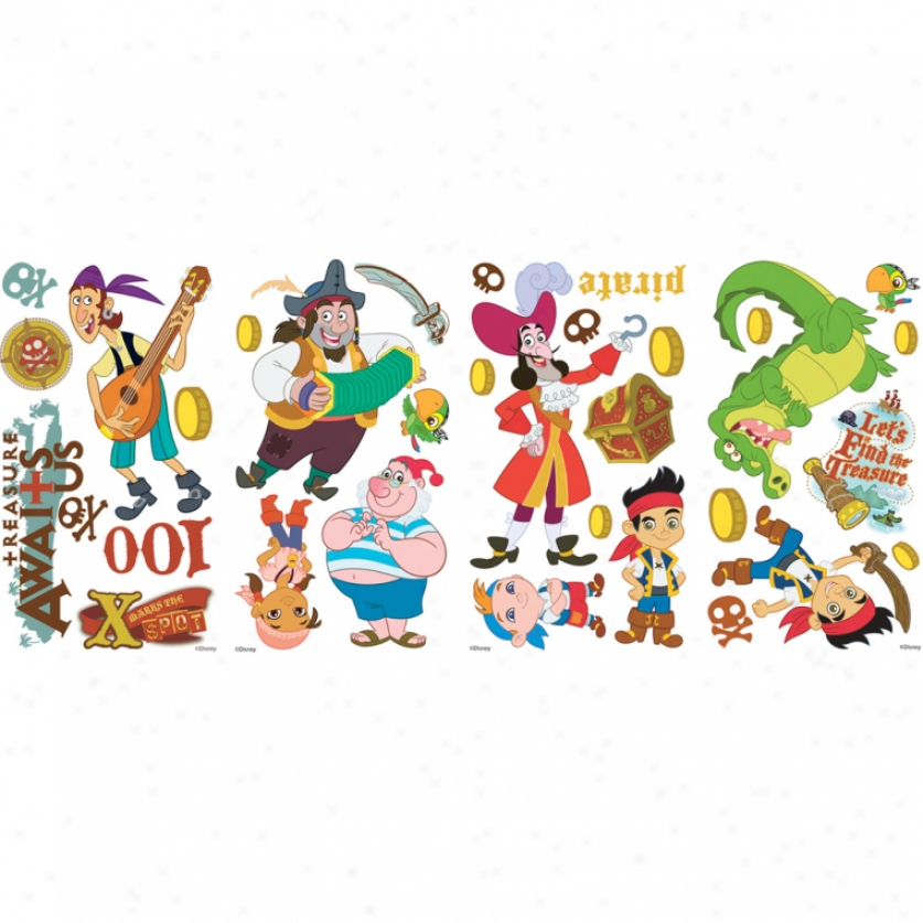 Jake And The Never Land Pirates Wall Decals
