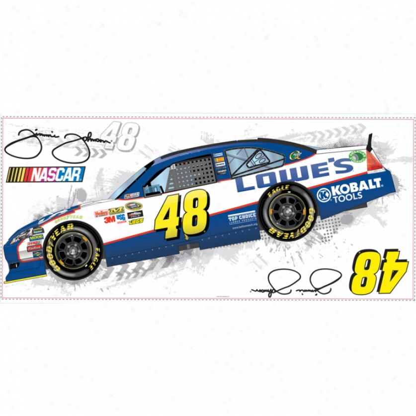 Jimmie Johnson(r) Giant Wall Decal