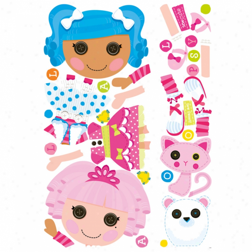Lalaloopsy Giant Wall Decals