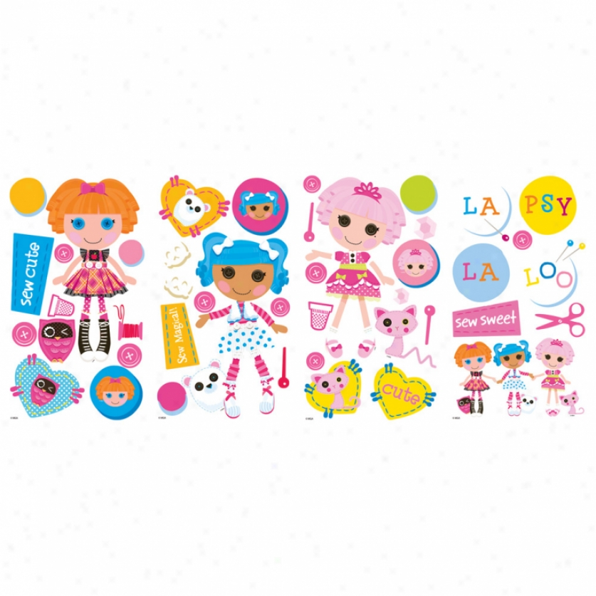 Lalaloopsy Wall Decals