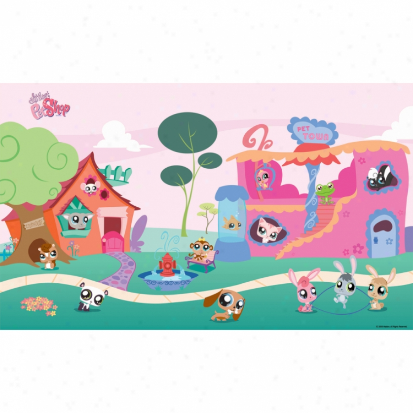 Littlest Pet Shop Xl Wallpaper Muarl 10.5' X '6