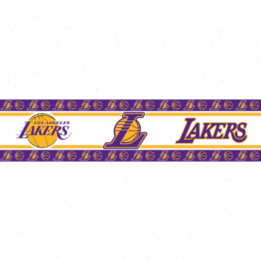 Los Angeles Lakers Peel & Stick Border