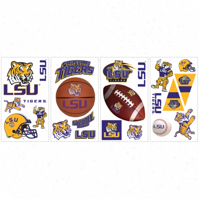 Louisiana State University Wall Decals