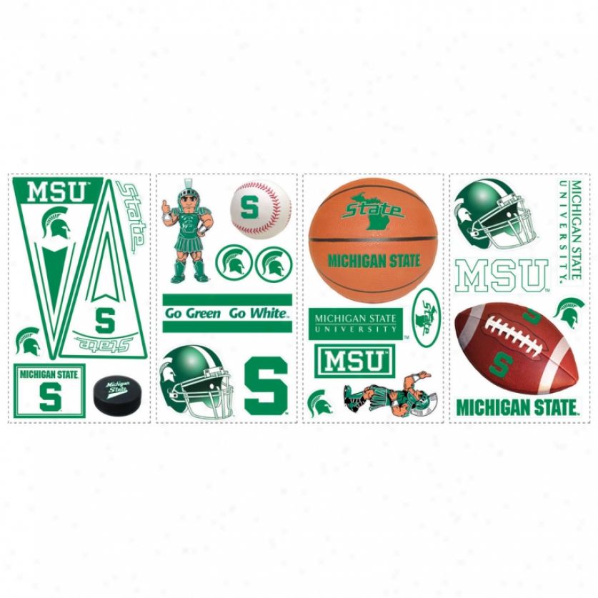 Michigan State University Wall Decals