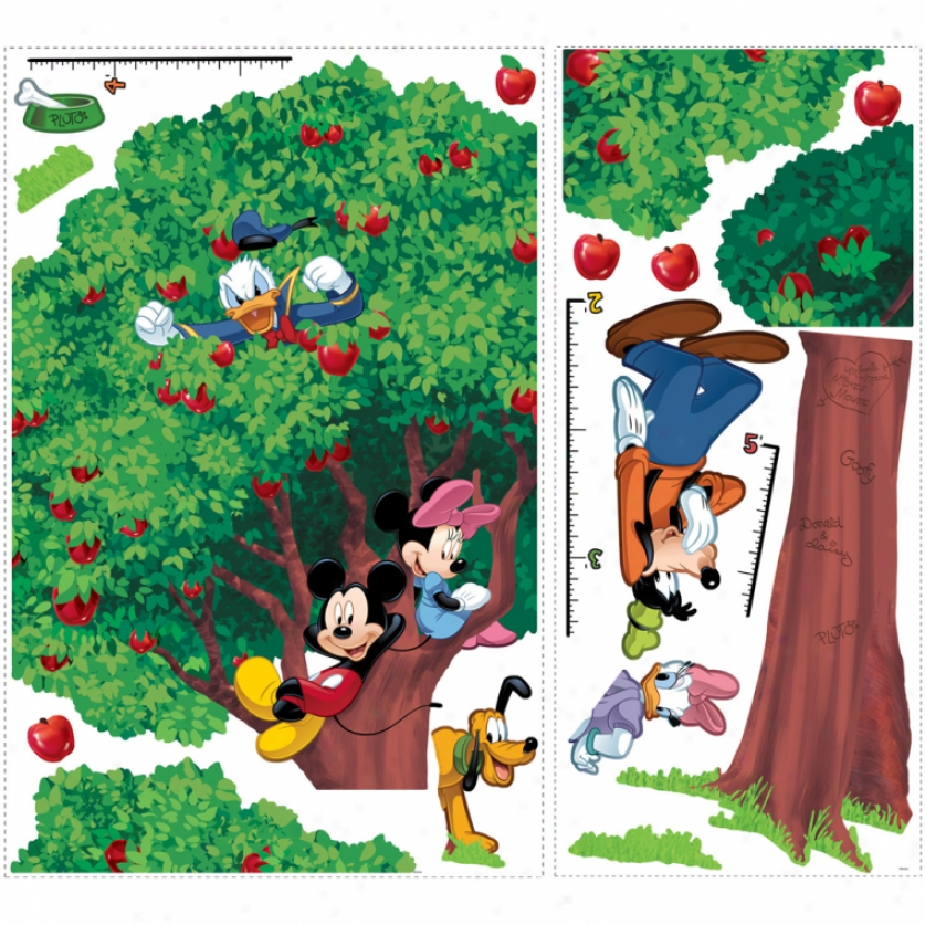 Mickey & Friends Growth Chart