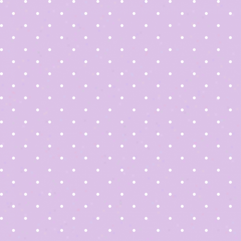 Mini Dots Lilac & White Walllpaper