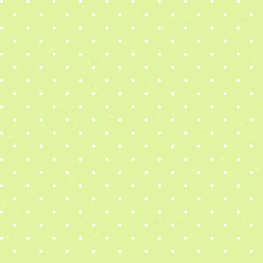 Mini Dots Lime & White Wallpaper