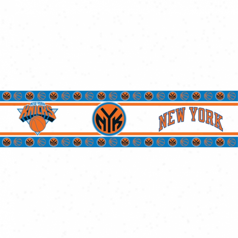 New York Knicks Peel & Stick Border