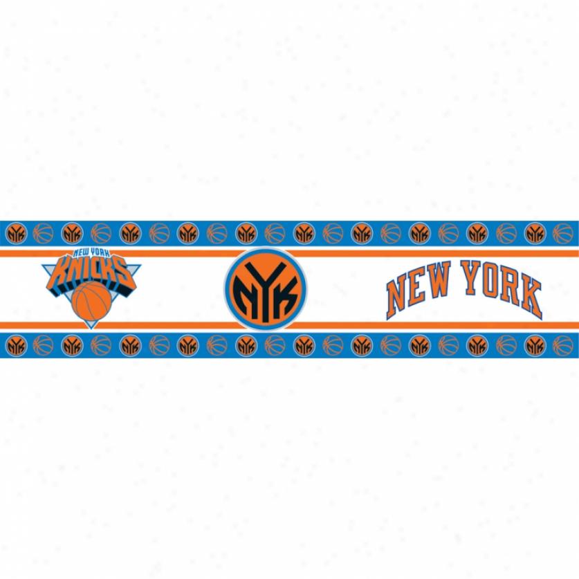New York Knicks Peel & Stick Border