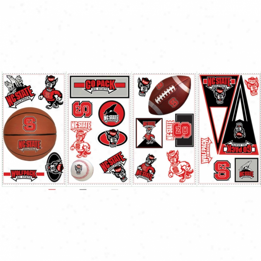 North Carolina State University Wall Decals