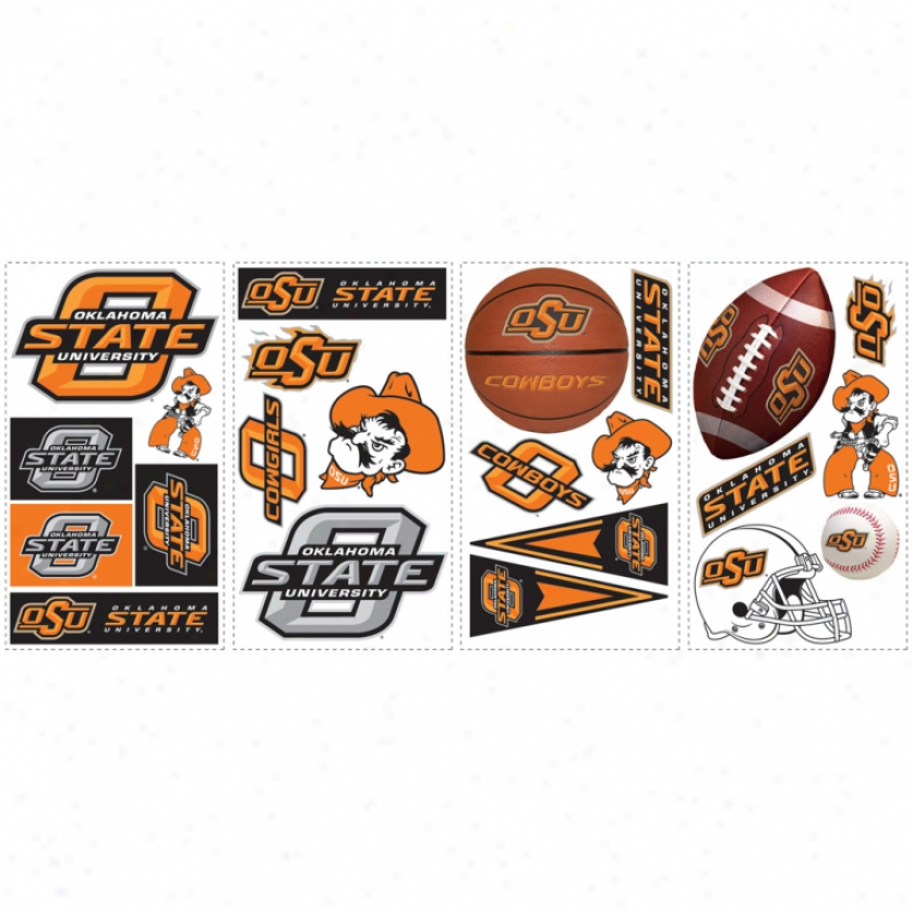 Oklahoma State University Wall Decals