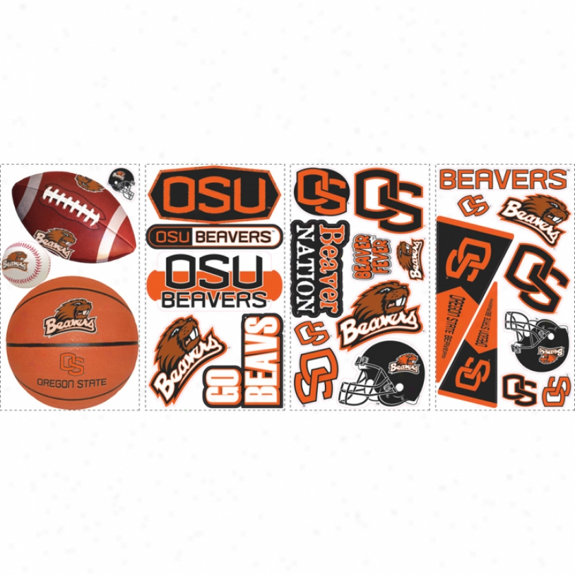 Oregon Stare University Wall Decals