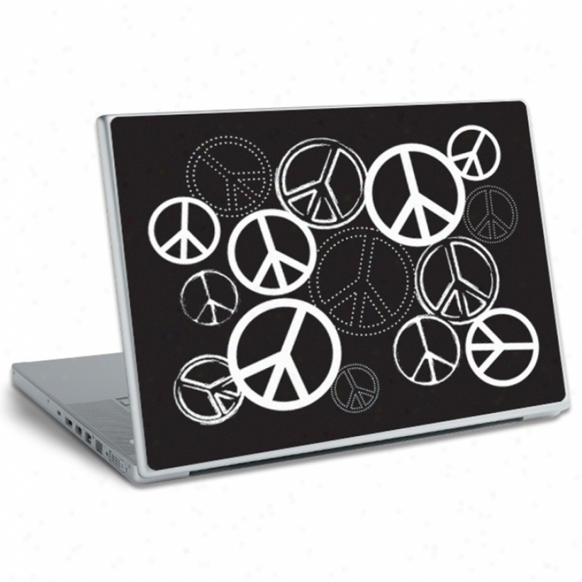 Peace Sugns Laptop Skin