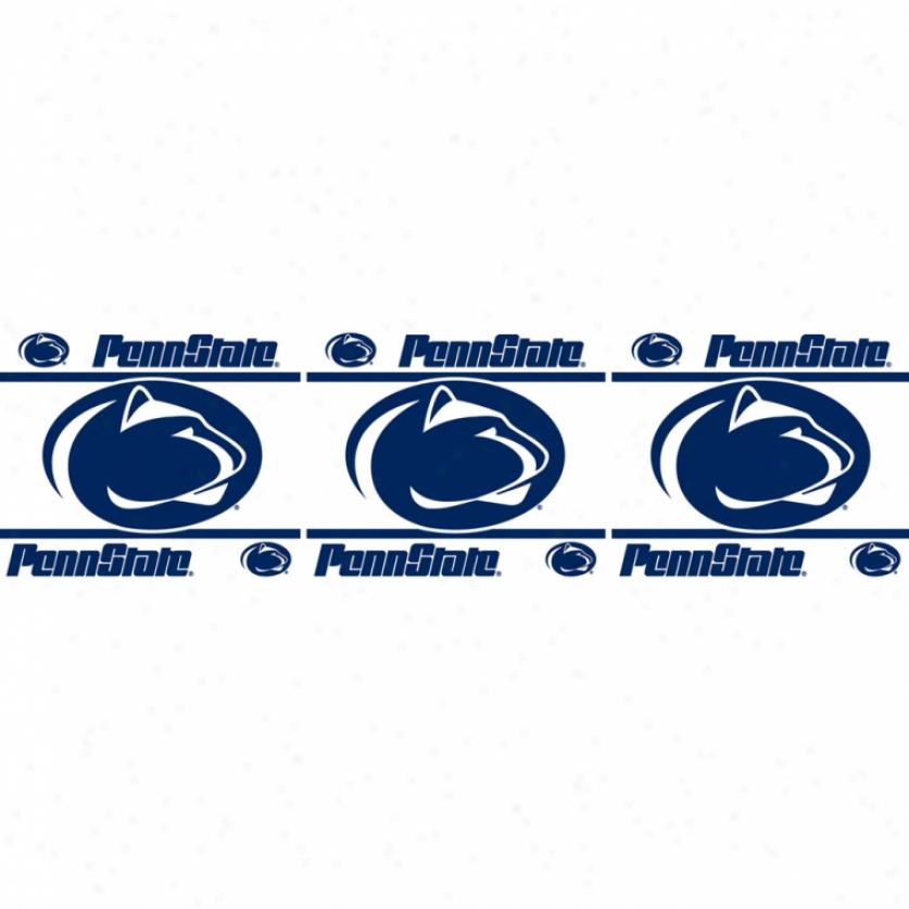 Penn State University Peel & Stick Borde