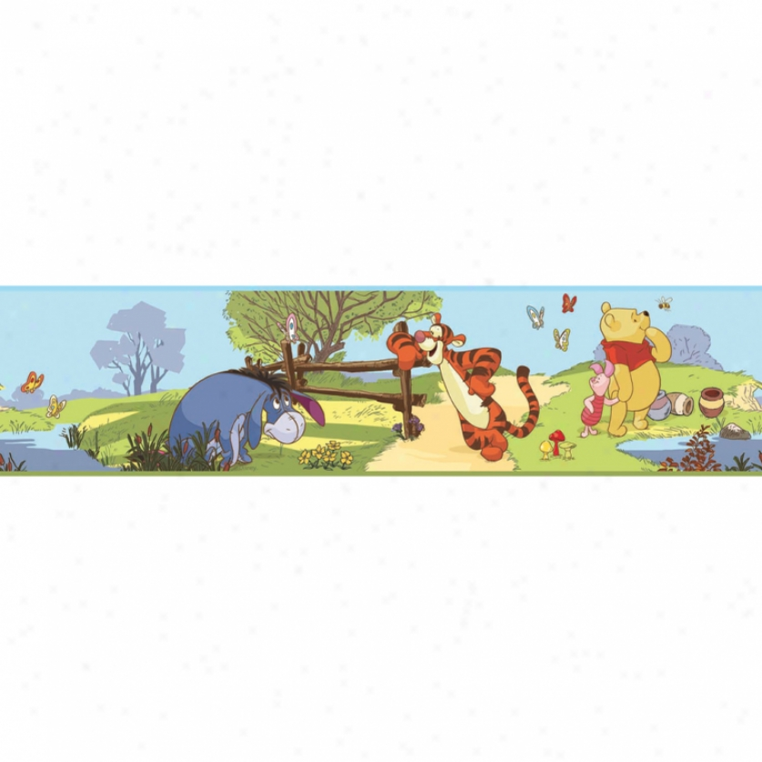Pooh & Friends Peel & Stick Border