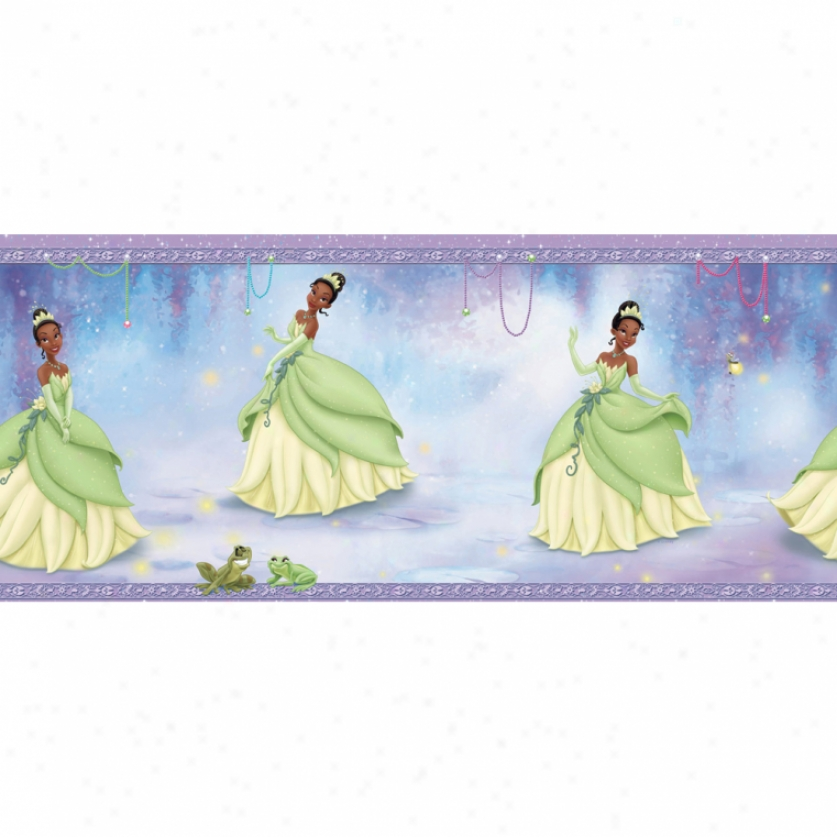 Princess Tiana Prepasted Wallpaper Border