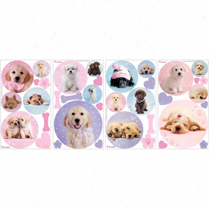 Puppy Spots Wall Decals