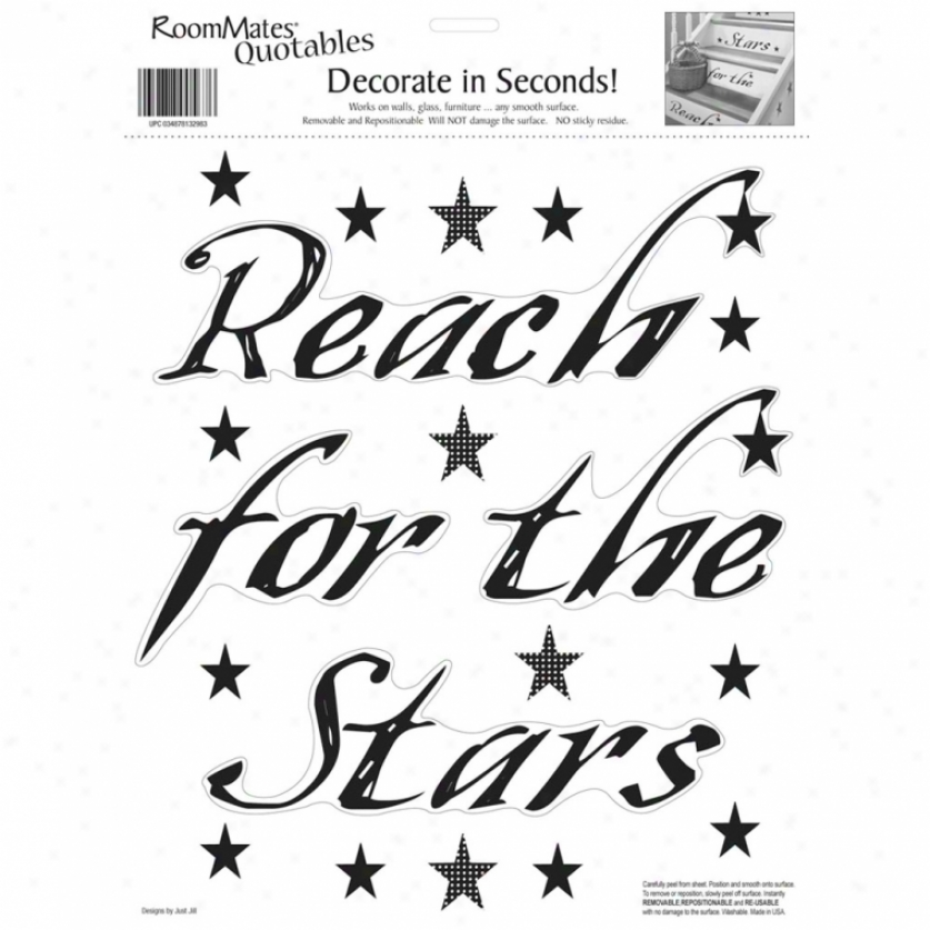 Reach For The Stars Wall Decals