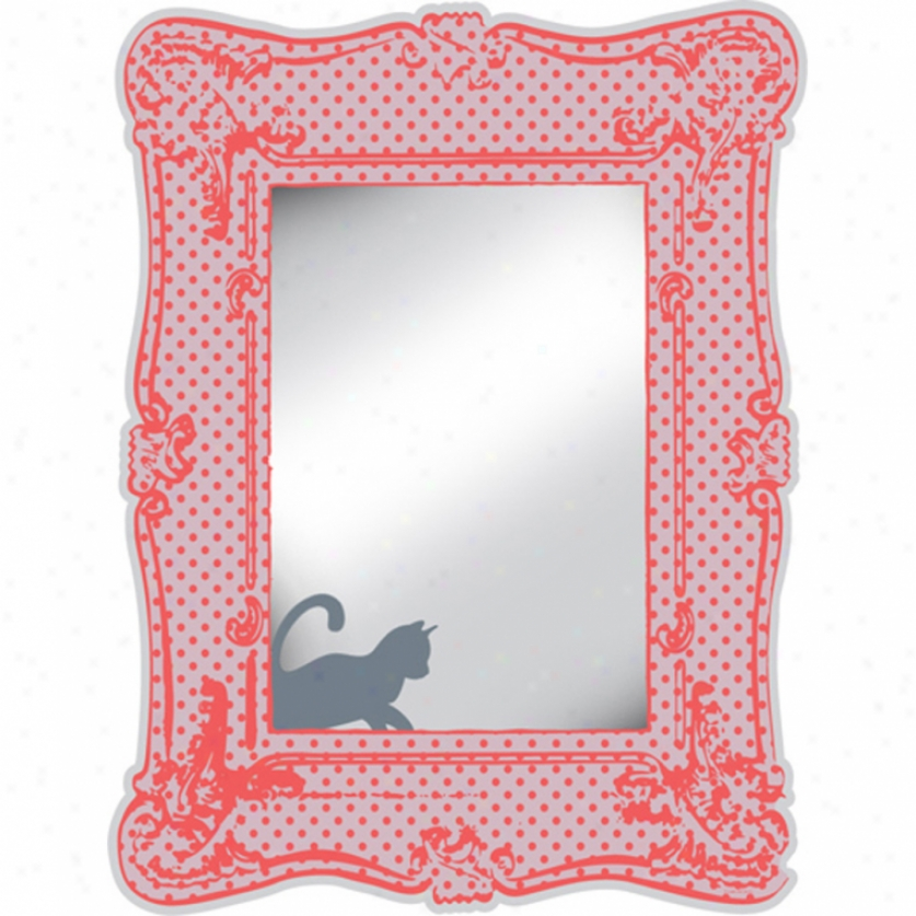 Romantic Photo Frame Mirror