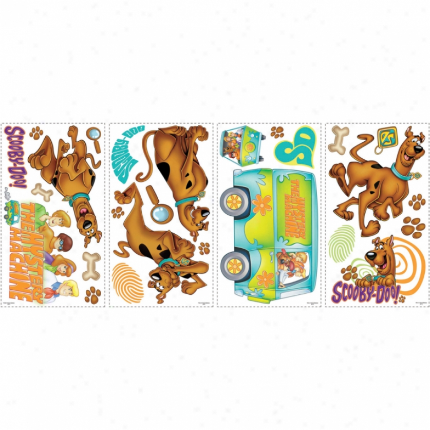 Scooby-doo Wall Decals