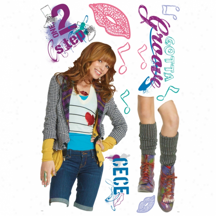 Shake It Up Cece Giant Wall Decal