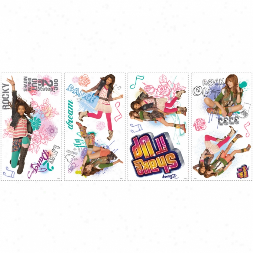 Shake It Up Wall Decals