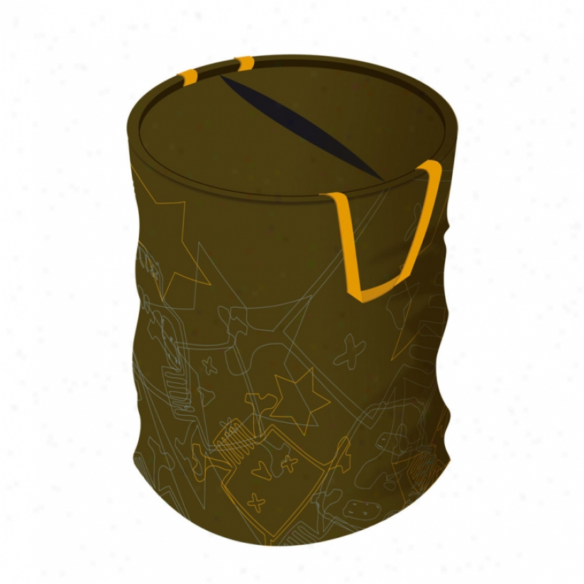 Skull & Crossbones Pop-up Bin
