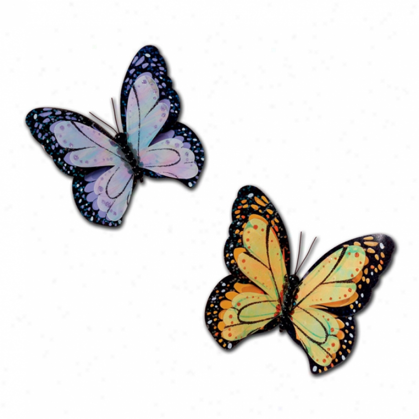 Social Butterflies Wall Charms