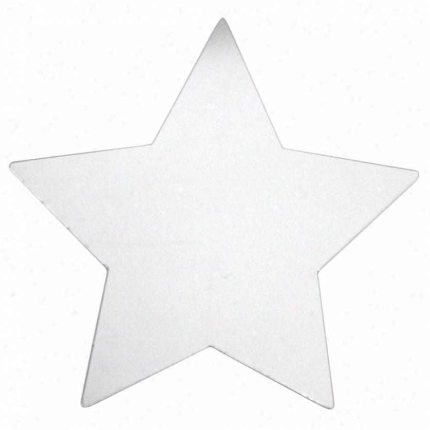 Star Peel & Stick Mirror