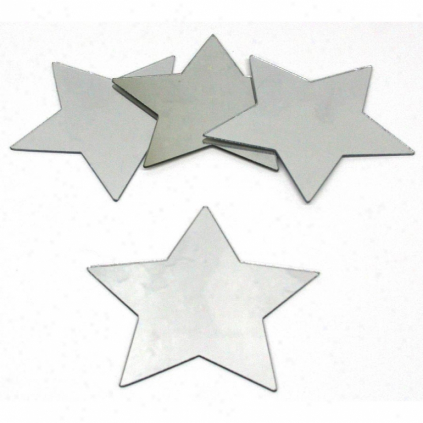 Star Peel & Stick Mirrors (4 Pack)