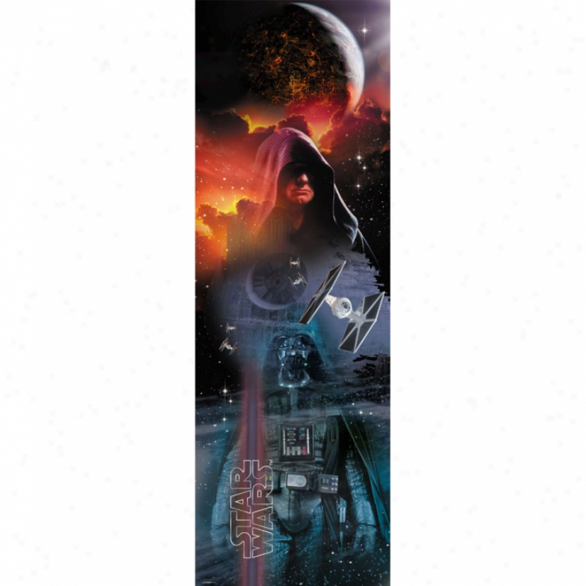 Star Wars(tm) Classic Dark Side Wall Panel