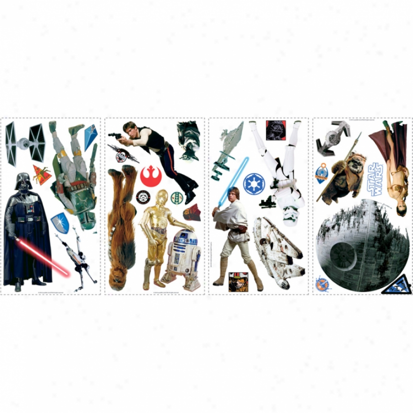 Star Wars(tm) Classic Wall Decals