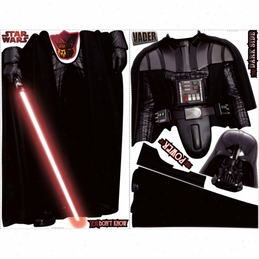 Star Wars(tm) Darth Vader(tm) Giant Wall Decal