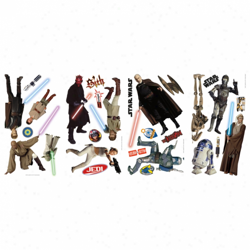 Star Wars(tm) Prequel Wall Decals