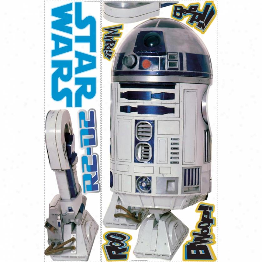 Star Wars(tm) R2-d2(tm) Giant Wall Decal