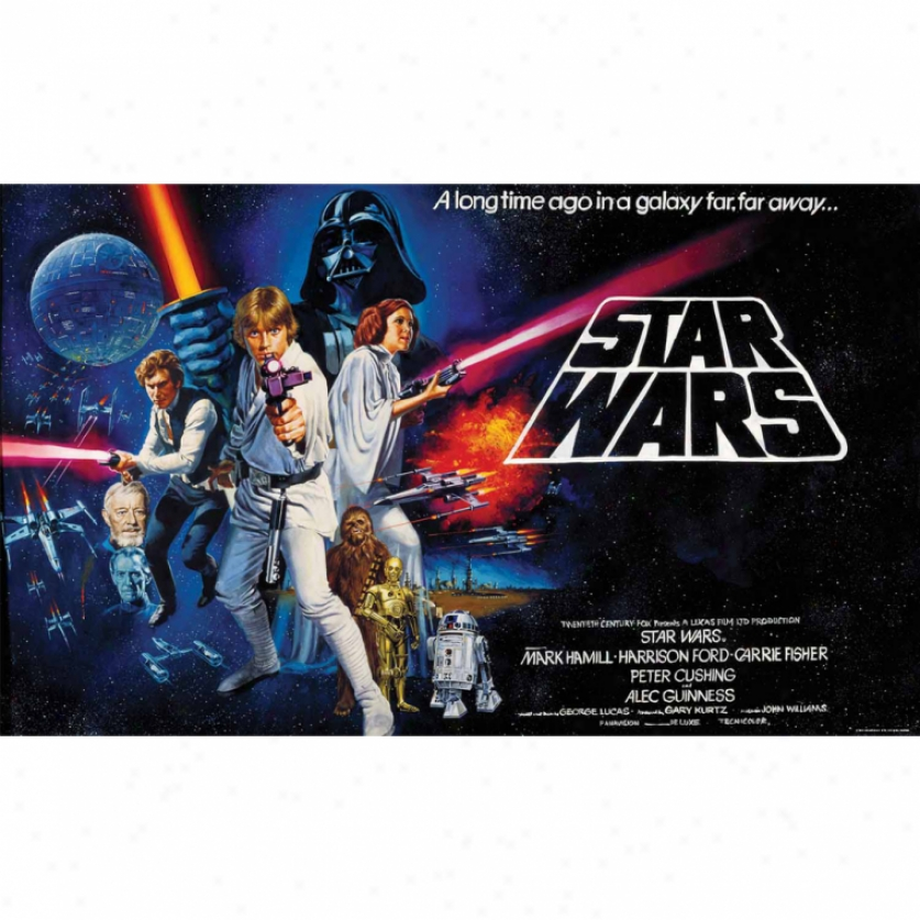 Star Wars(tm) Xl Wallpaper Mural 10.5' X 6'
