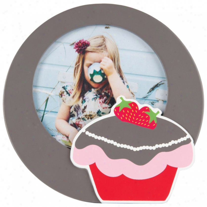 Strawberry Cake Photo Frame