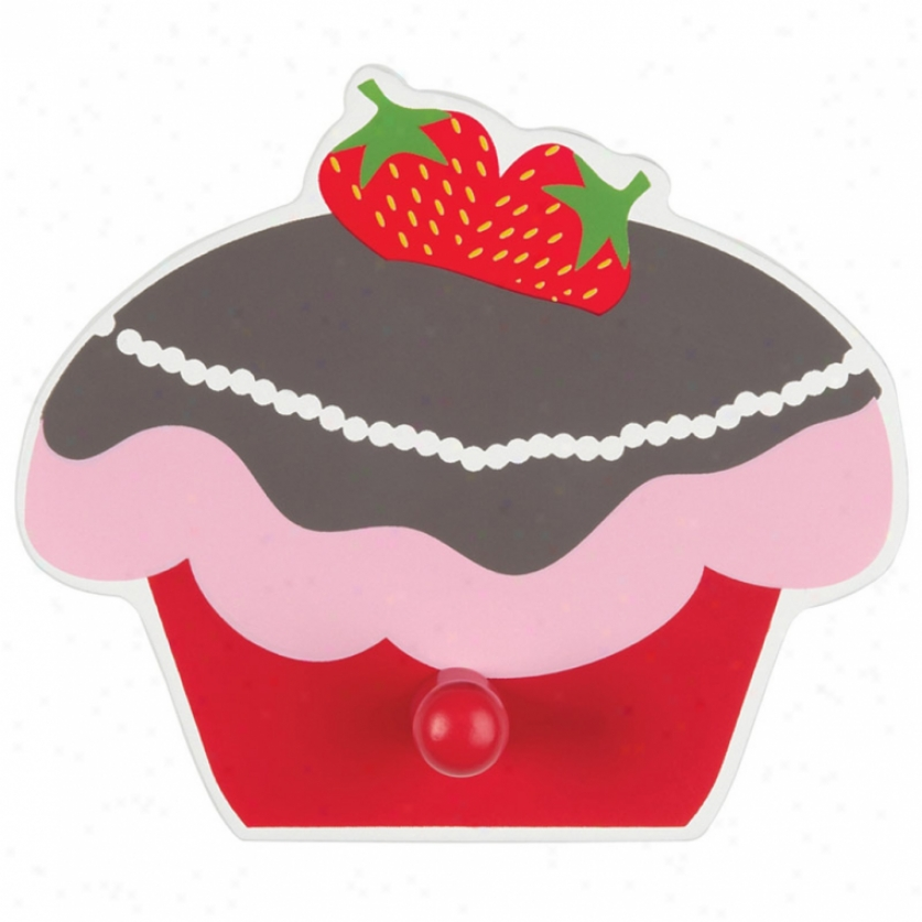 Strawberry Cake Wall Hook