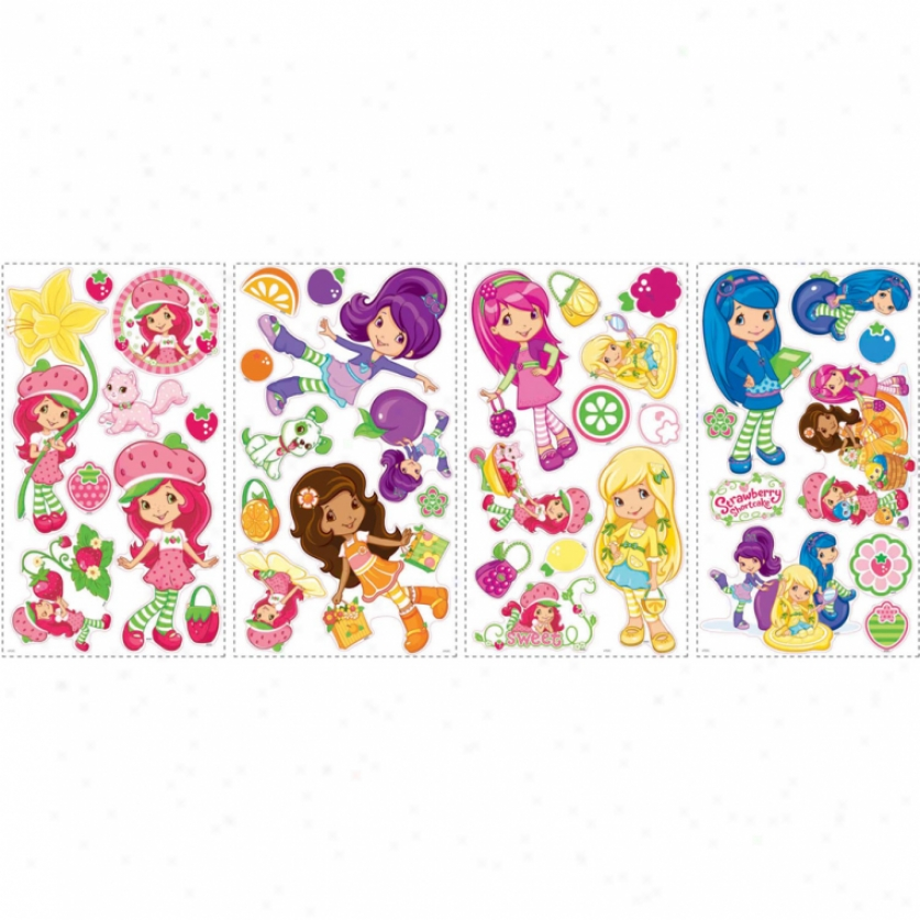 Strawberry Shortcake(tm) Wall Decals