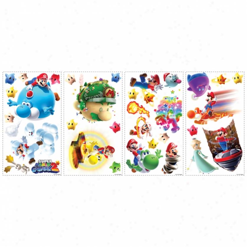 Super Mario Galaxy 2: Wall Decals