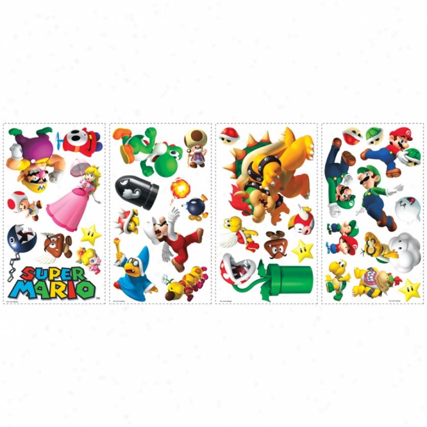 Super Mario: Wall Decals