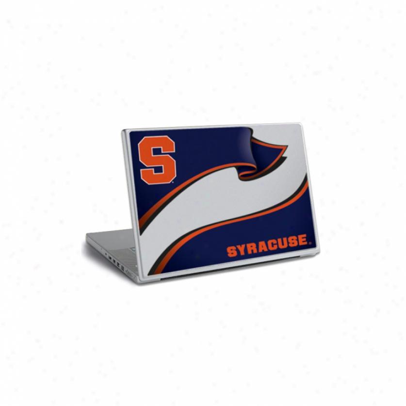 Syracuse Universigy Laptop Skin