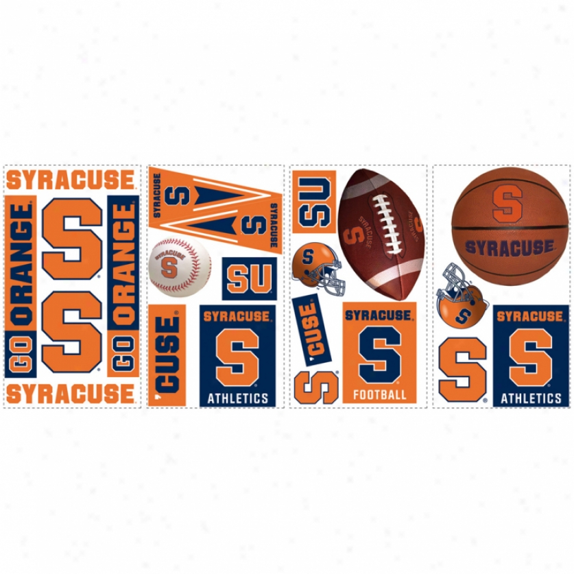 Syracuse University Wall Decals